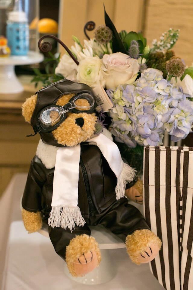 recuerdos para bautizo temático viaje oso piloto