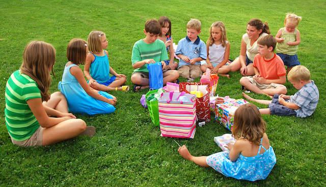 regalos cumpleaños infantiles celebración aire