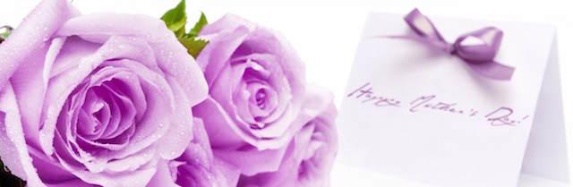 rosas lilas preciosas para día la madre