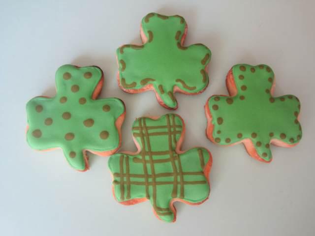 sabrosas-galletas-forma-trebol-san-patricio