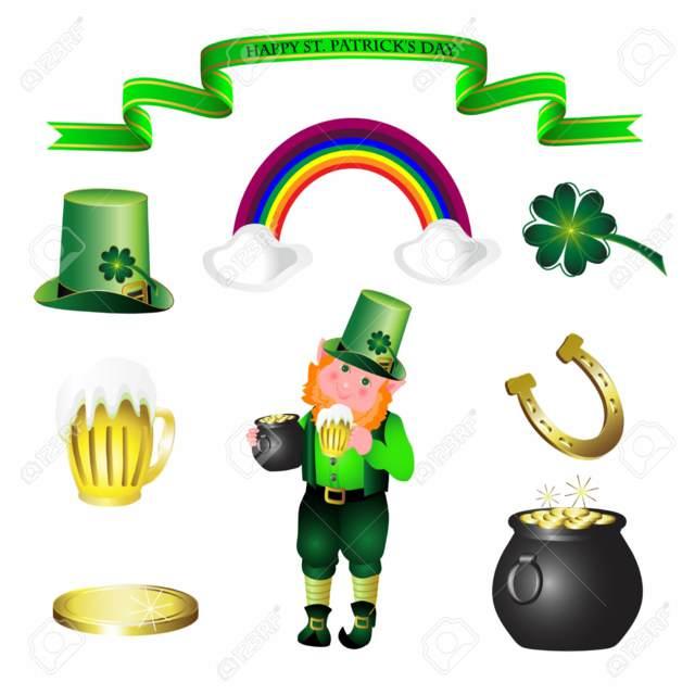 San Patricio decoración temática color verde ideas