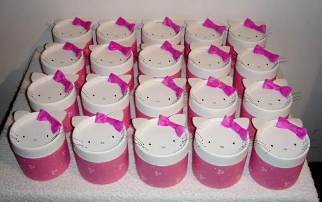 souvenirs infantiles Kitty ideas fiesta cumpleaños