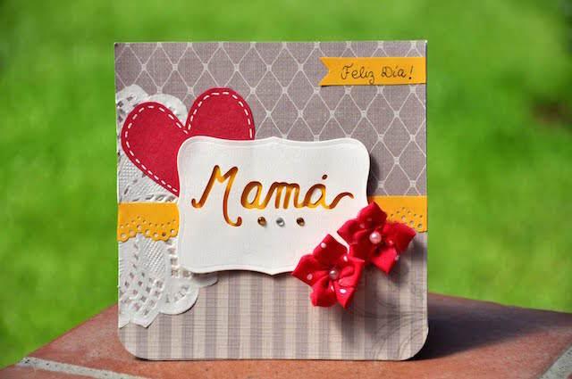 tarjeta fantástica día de la madre hecha