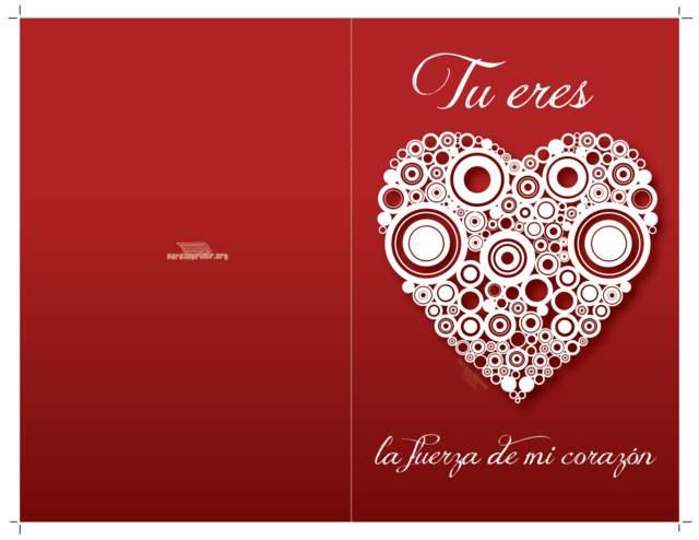 tarjeta romántica aniversario sorpresa preciosa