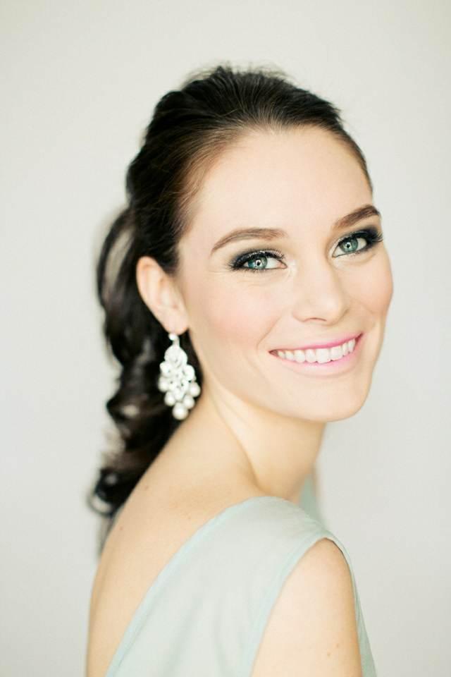 tendencias modernas maquillaje fantástico novia ideas preciosas