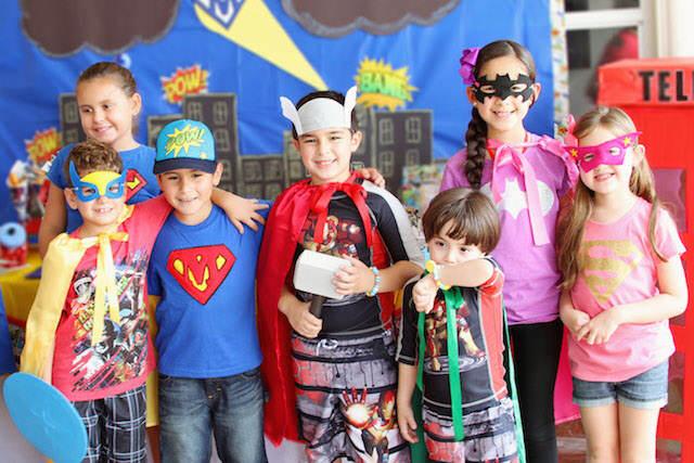 Cumple tematico de superman imagui - Accesorios de cumpleanos infantiles ...