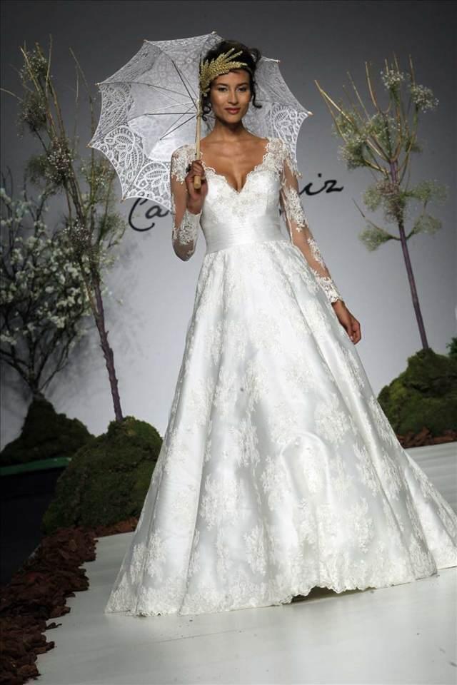 trajes de novia ideas originales no estándar