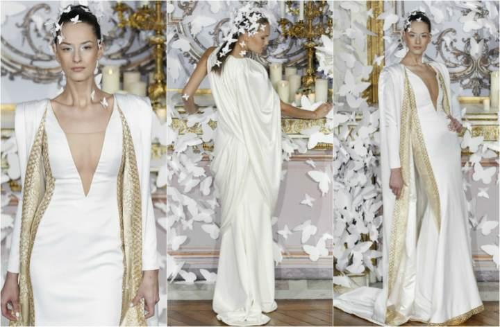 trajes de novia modelos extravagantes modernos ideas diferentes