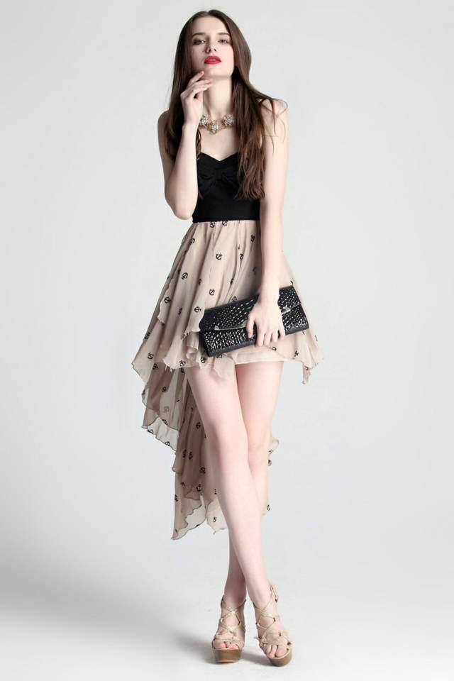 interesantes vestidos de noche fiesta discoteca ideas