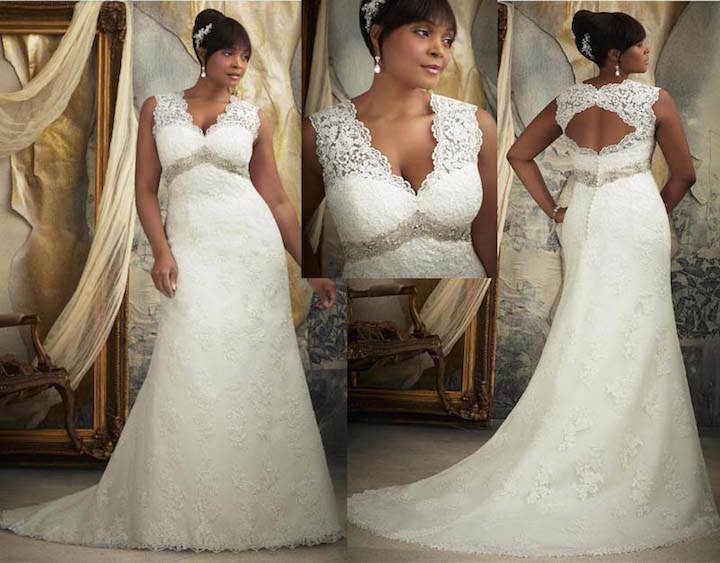 vestidos de novia espalda ojo de la cerradura modernos