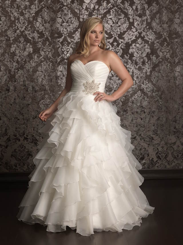 vestidos de novia para gorditas encaje vintage