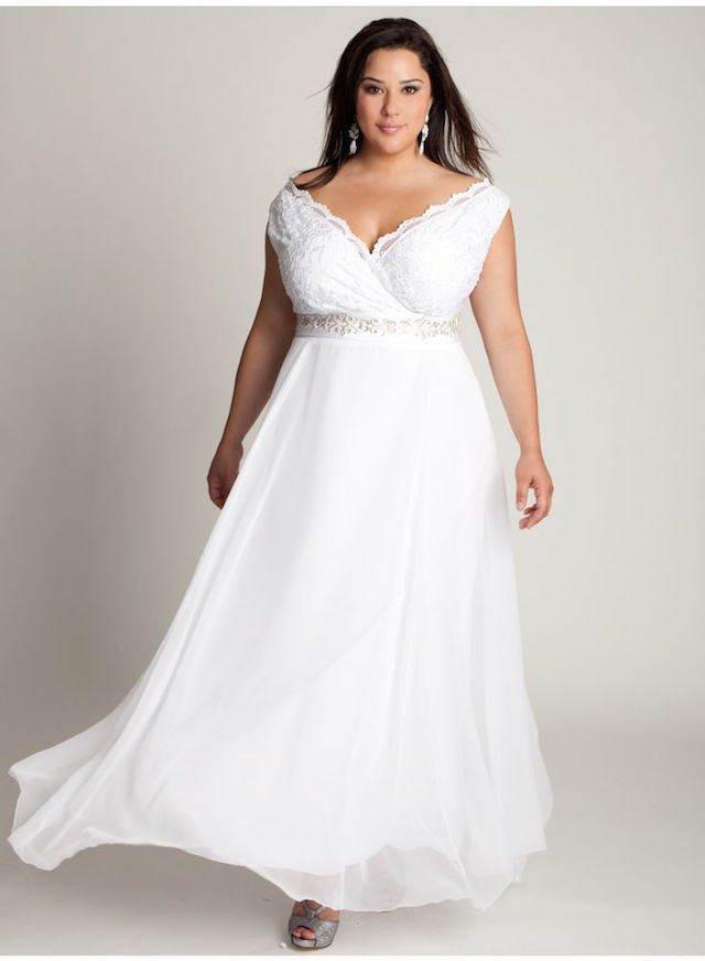 vestidos de novia para gorditas estilo nítido