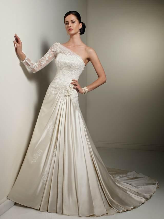 0709916bb9 Magníficos y elegantes vestidos de novia baratos