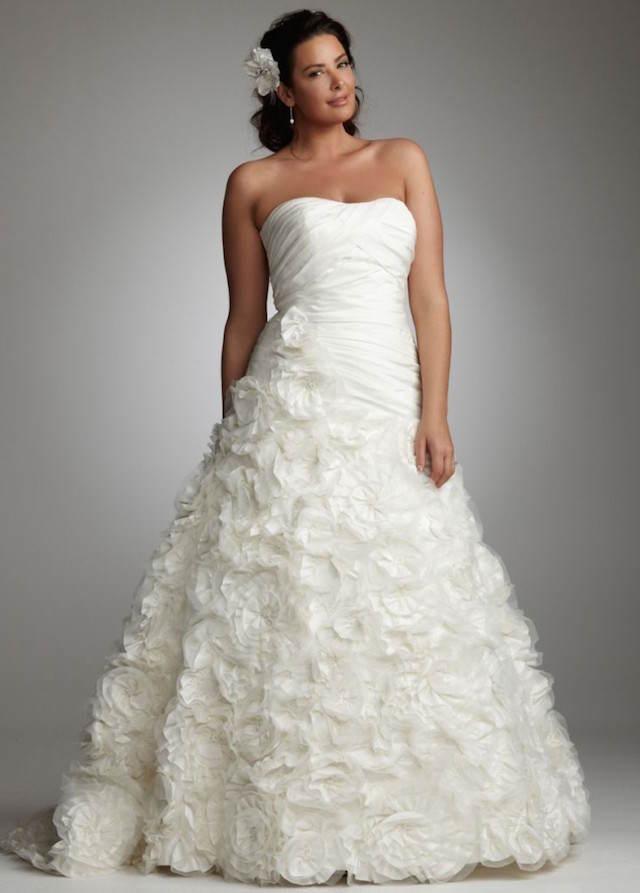 vestidos para novias gorditas moda 2015 boda