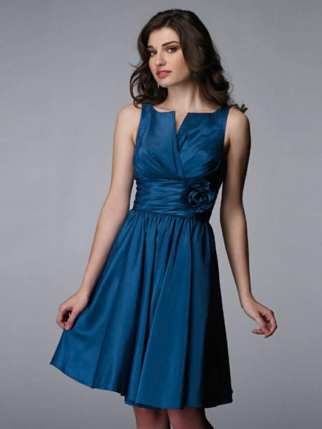 vintage vestido color azul ideas originales fiestas corporativas