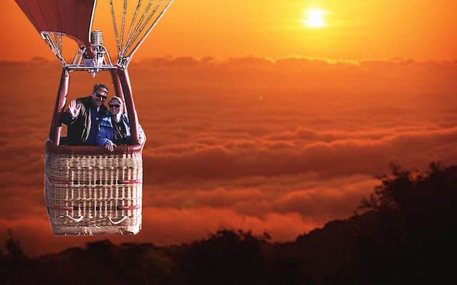 vuelo en globo experiencia romántica