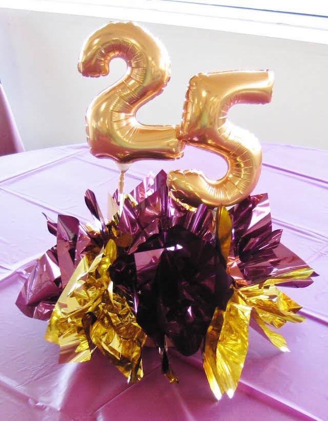 adornos de mesa globos decoración cumpleaños