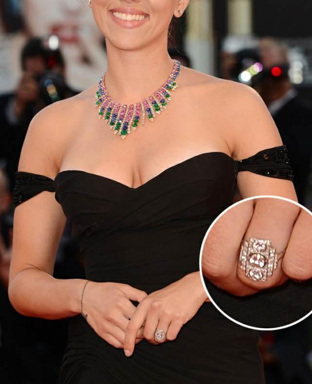 anillo compromiso scarlett johansson modelo magnífico