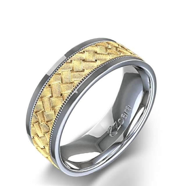 bd2321f539aa Anillos de boda para hombres  ideas interesantes y modernas