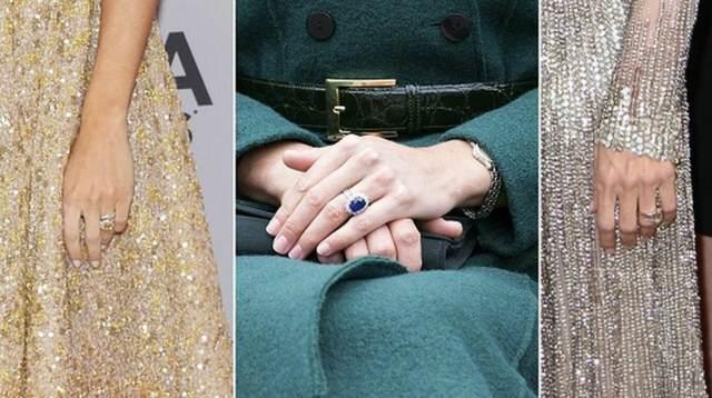 anillos de boda ideas magníficas personas famosas