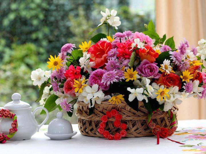 arreglos florales cumpleaños preciosos aire libre