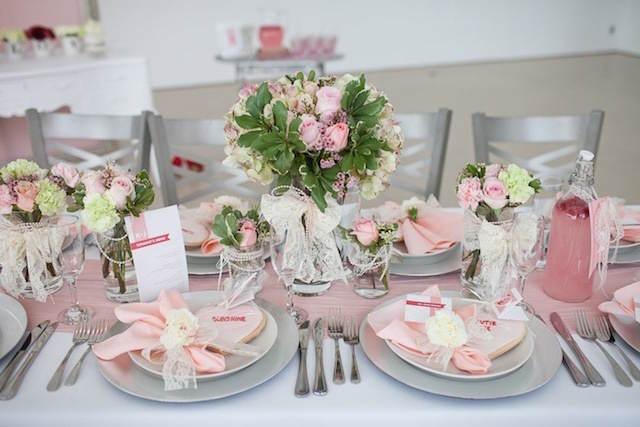 arreglos florales decoración magnifica fiesta tierna