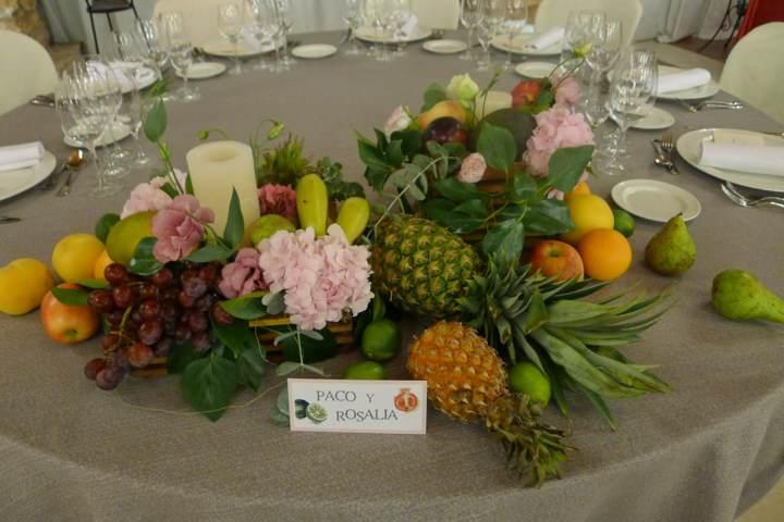 arreglos frutales boda decoración fantástica ideas
