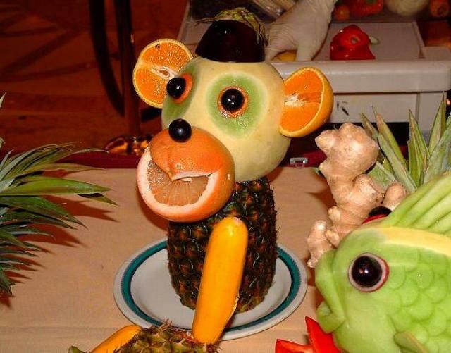arreglos frutales ideas divertidas fiestas infantiles