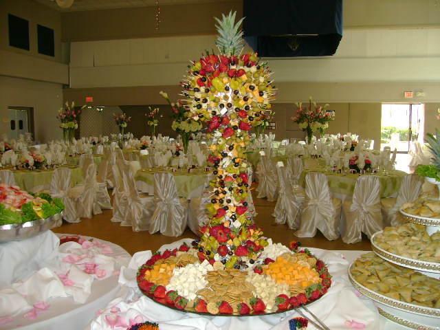 arreglos frutales evento corporativo suntuoso decoración