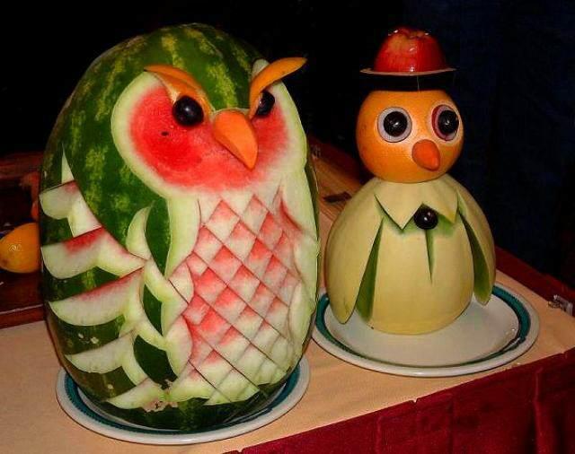 arreglos frutales ideas fantásticas fiestas infantiles