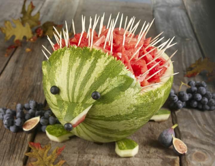 arreglos frutales ideas fantásticas decoración original fiestas infantiles
