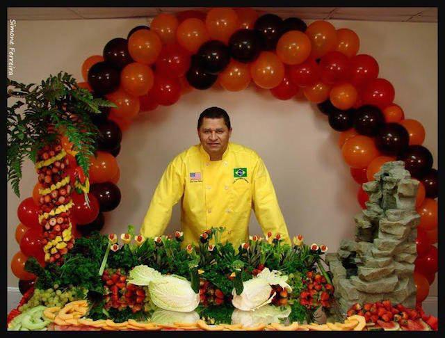 arreglos frutales fantástica decoración evento corporativo