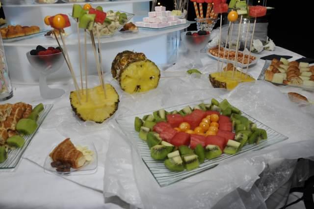 arreglos frutas boda original ideas interesantes