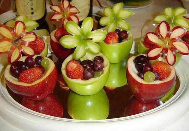 arreglos originales frutas ideas fiestas infantiles