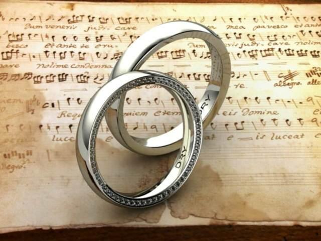 anillos de boda originales ideas magníficas