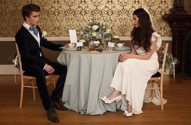 boda estilo vintage trajes de novio modernos