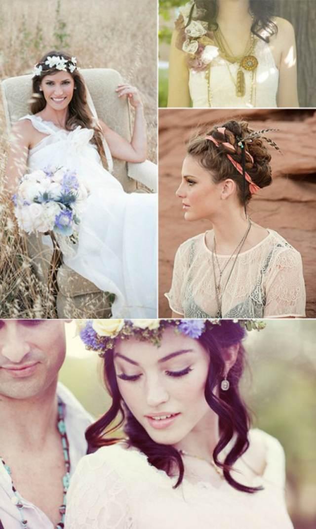bodas estilo boho arreglos florales preciosos