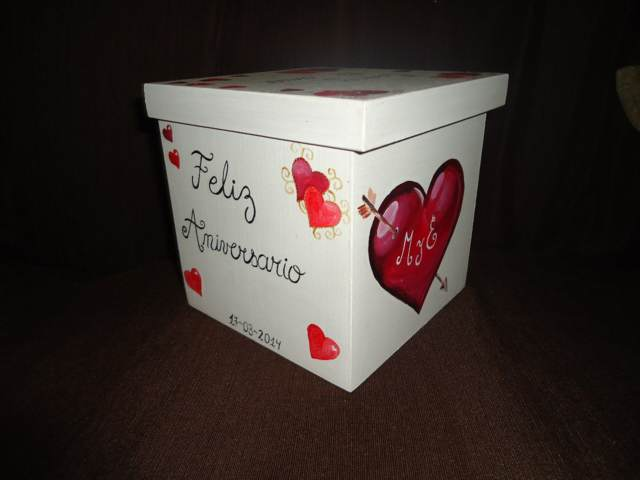 caja regalo aniversario memorable ideas románticas