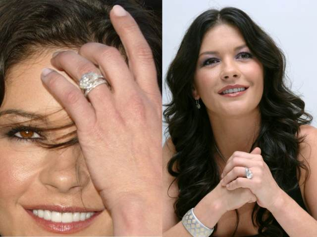 anillos de boda catherine zeta jones ideas interesantes