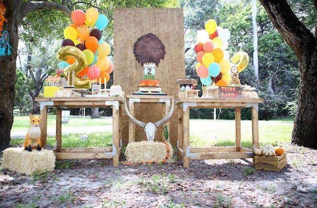 original decoración estilo bohemio feliz cumpleaños