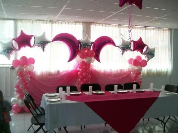 decoración con globos ideas preciosas despedida soltera