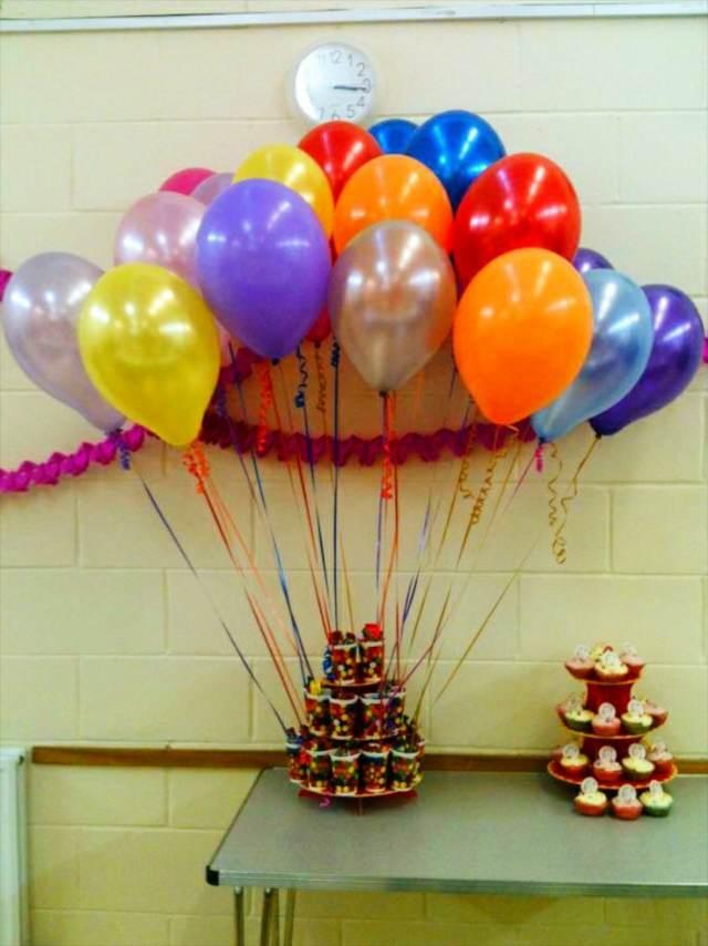 decoración con globos ideas temáticas despedida soltera