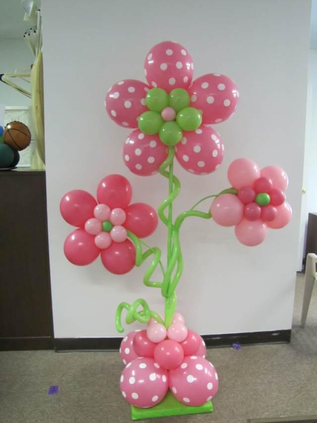decoración con globos despedida de soltera divertida