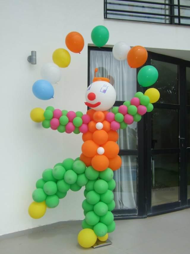 decoración con globos ideas originales divertidas despedida soltera memorable