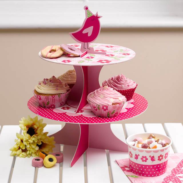 decoración cumpleaños chica tema aves