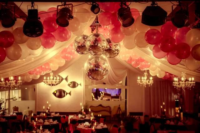 decoración fantastica temática globos ideas despedida soltera