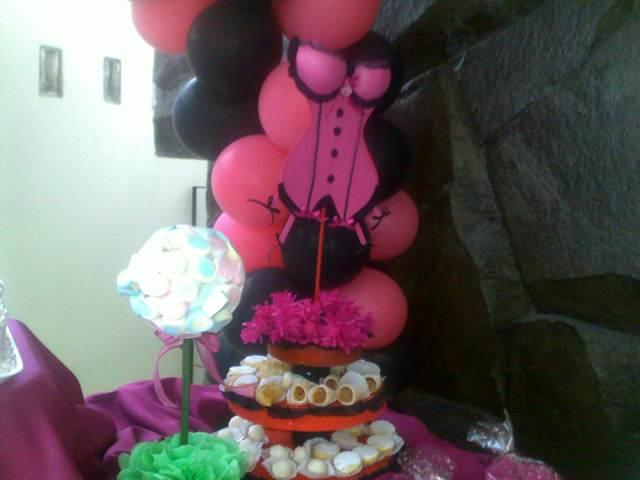 temática decoración con globos ideas despedida soltera