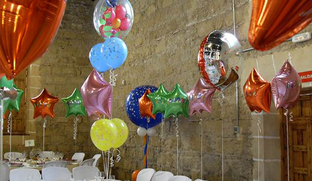 decoración globos ideas fantásticas despedida soltera inolvidable