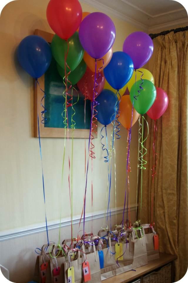 decoración con globos despedida soltera regalos ideas