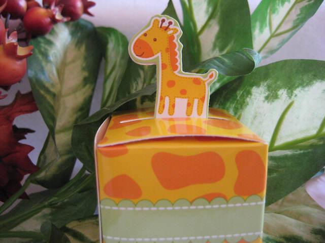 dulce jirafa recuerdos para baby shower safari